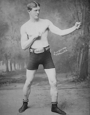 Lightweight Jack Daly was considered the finest Delaware boxer of the 19th century - willing and able to take on all comers up to heavyweights.
