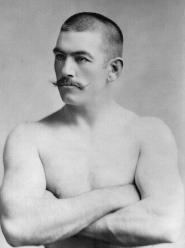 The best Delaware fight fans could hope for from appearances by champs like John L. Sullivan were tame   exhibition matches when boxing was illegal in the state.