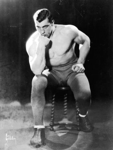 On his way to the heavyweight   championship of the world Primo   Carnera stopped in Wilmington to   batter an overmatched opponent.