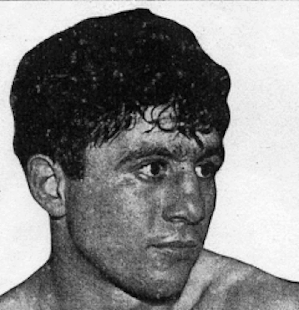 Top amateur Johnny Aiello.