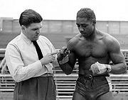 Lou Brooks was the first Delawarean to make a mark in the upper weight classes.