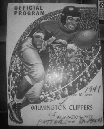 """The Wilmington Clippers - known to their devoted fans as """"The Fleet"""" - were the strongest team outside the National Football League in the early 1940s."""