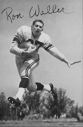 Ron Waller was one of football's most electrifying performers before being slowed by injuries.