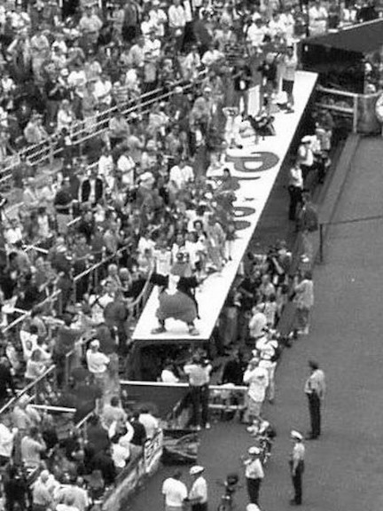 If there was something going on in the stands at Veterans Stadium in the 1970s it was likely the Phillie Phanatic was in the middle of it.