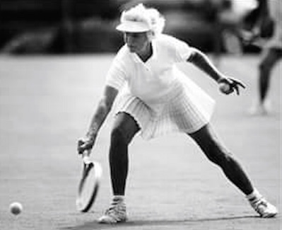 No one ever won as many tennis trophies in Delaware as Bunny Vosters.