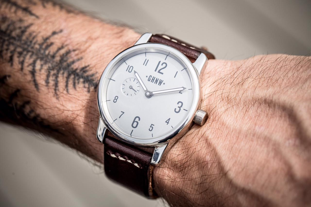 Greenhorn Northwest aims to produce all case components, dials, and straps in the US.