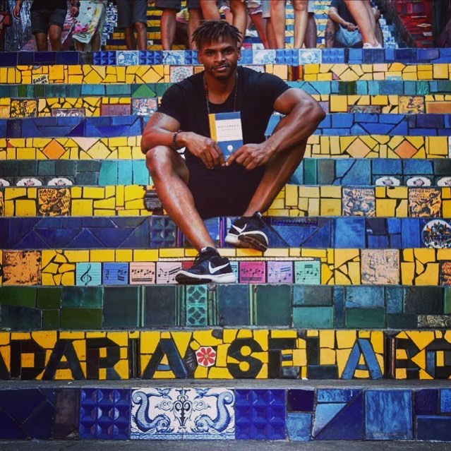 Big shout to @livegooddiegood for bringing #thewayfarershandbook all the way to the famous Seleron Steps of Rio de Janeiro (and to @mollysrice for passing out books to friends in airports). - - - - #thewayfarershandbook #worldwide #riodejaneiro #brazil