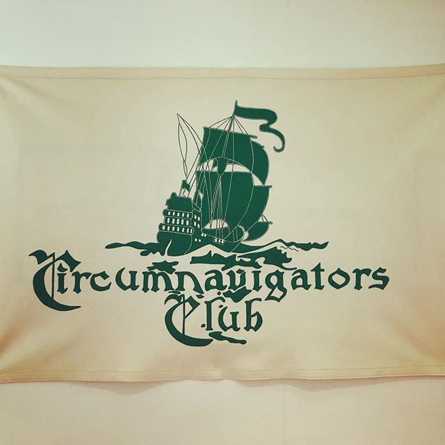 Had a really fantastic time talking to The Circumnavigators Club today, thanks for everything! - - - - #thewayfarershandbook #circumnavigatorsclub #speech #pennclub