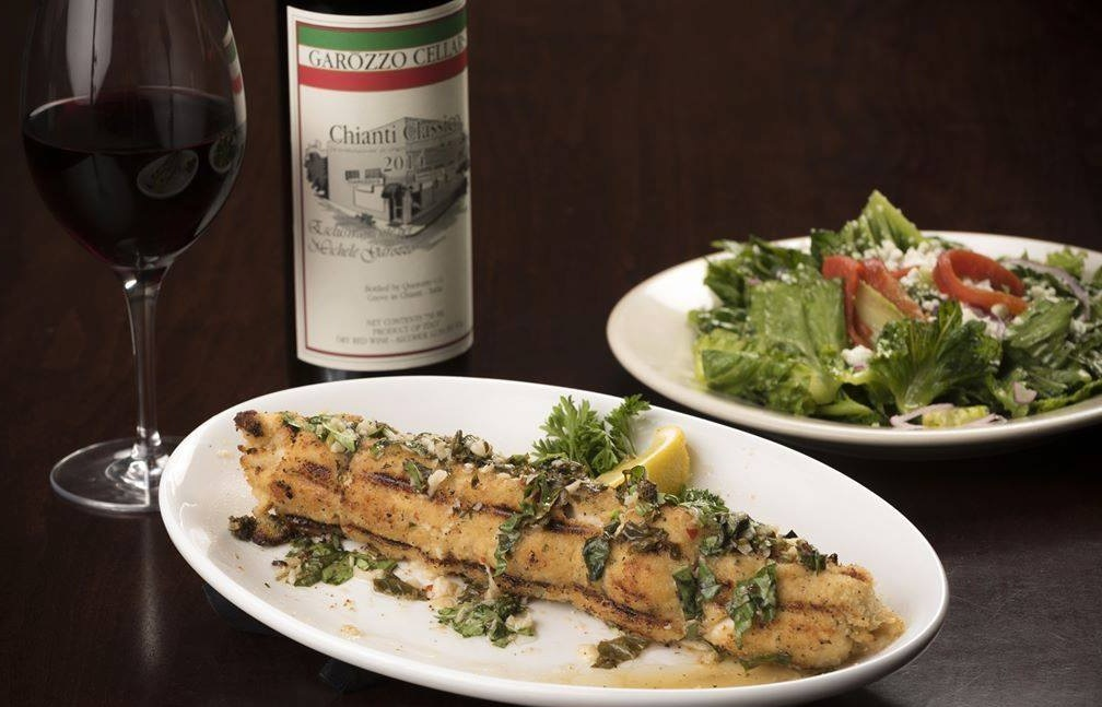 The  Runner-Up Prize  is a wining and dining extravaganza for 4 at Garozzo's Ristorante—a $500 value!