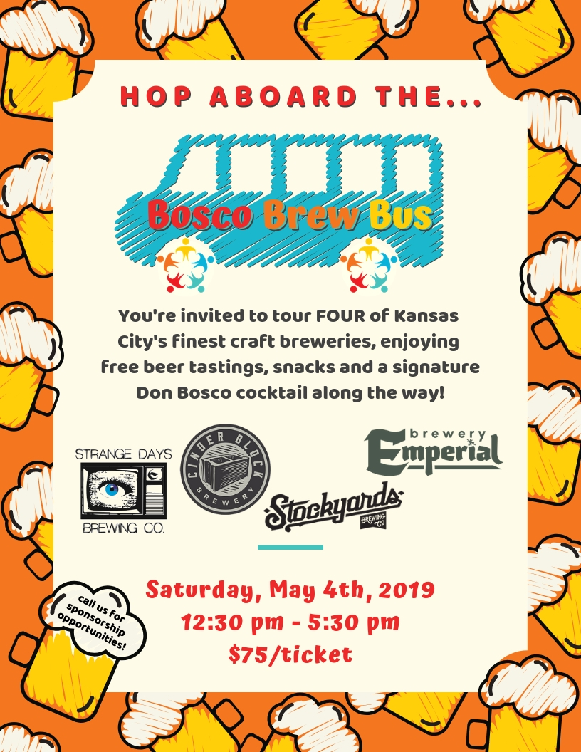 Let's Get our Beer On! - Join us for a tour of 4 top KC breweries this spring. Click below for details.
