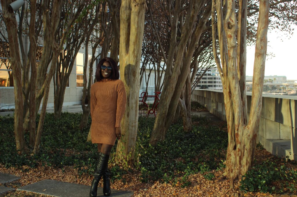 Dress:  Clothlink on Amazon    Boots: AMIClubwear