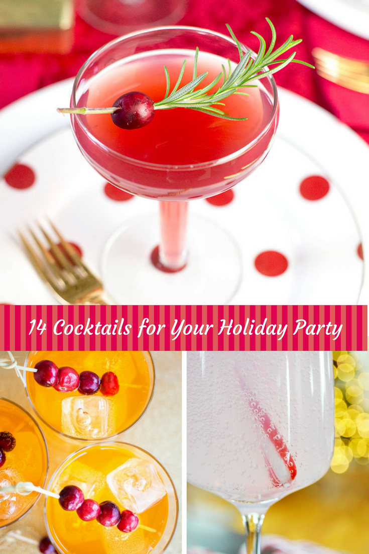 14 Cocktails for Your Holiday Party