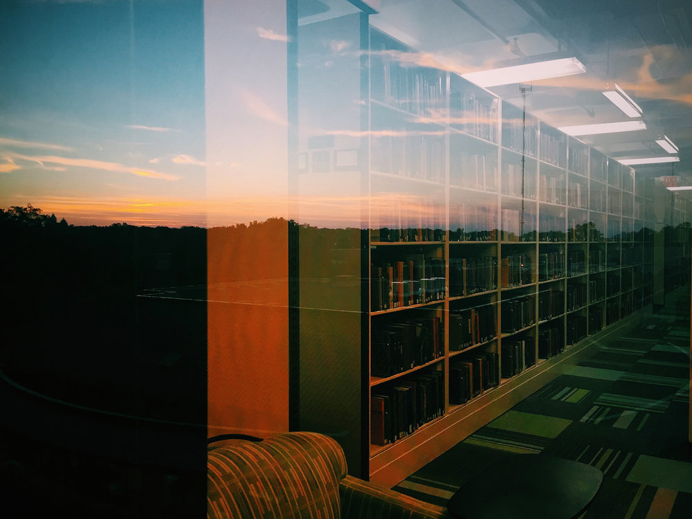 Sunset on Stacks, Fall 2015