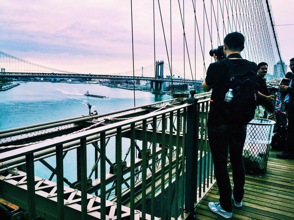 The Brooklyn Bridge, Spring 2016