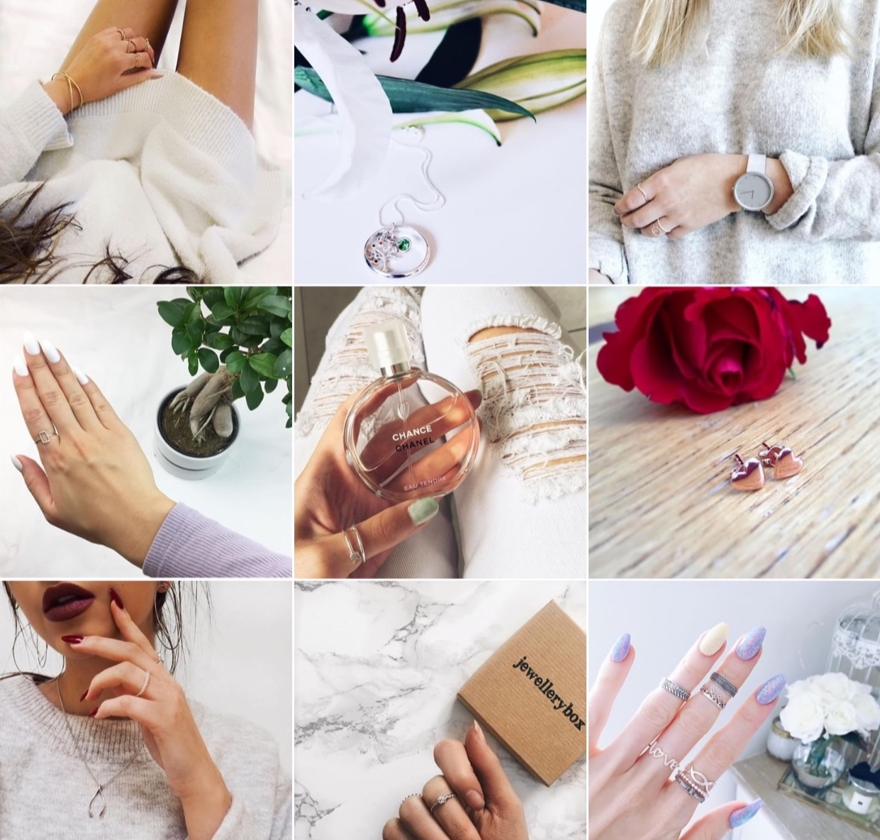 JewelleryBox.co.uk & Selected Influencers - - Influencer Marketing, Content Creation, Product Seeding & Social Media Management -