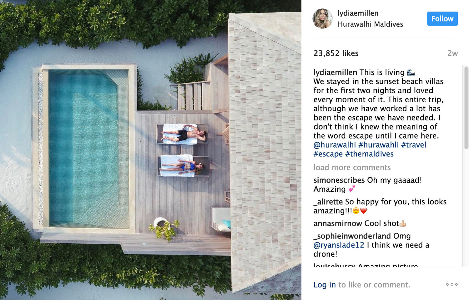 Hurawalhi Maldives + Selected Influencers - - Gifted Coverage Agreement, Trip Logistics, Influencer Negotiation & Briefing -