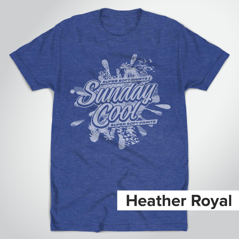 Super Soft Heather Royal