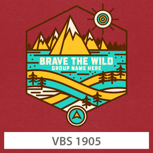 4 COLOR DESIGN Vacation Bible School  VBS Template