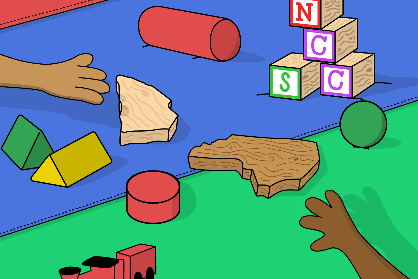 Can the NC an SC hip-hop scenes play nice together? Super Empty illustration by Ryan Cocca.