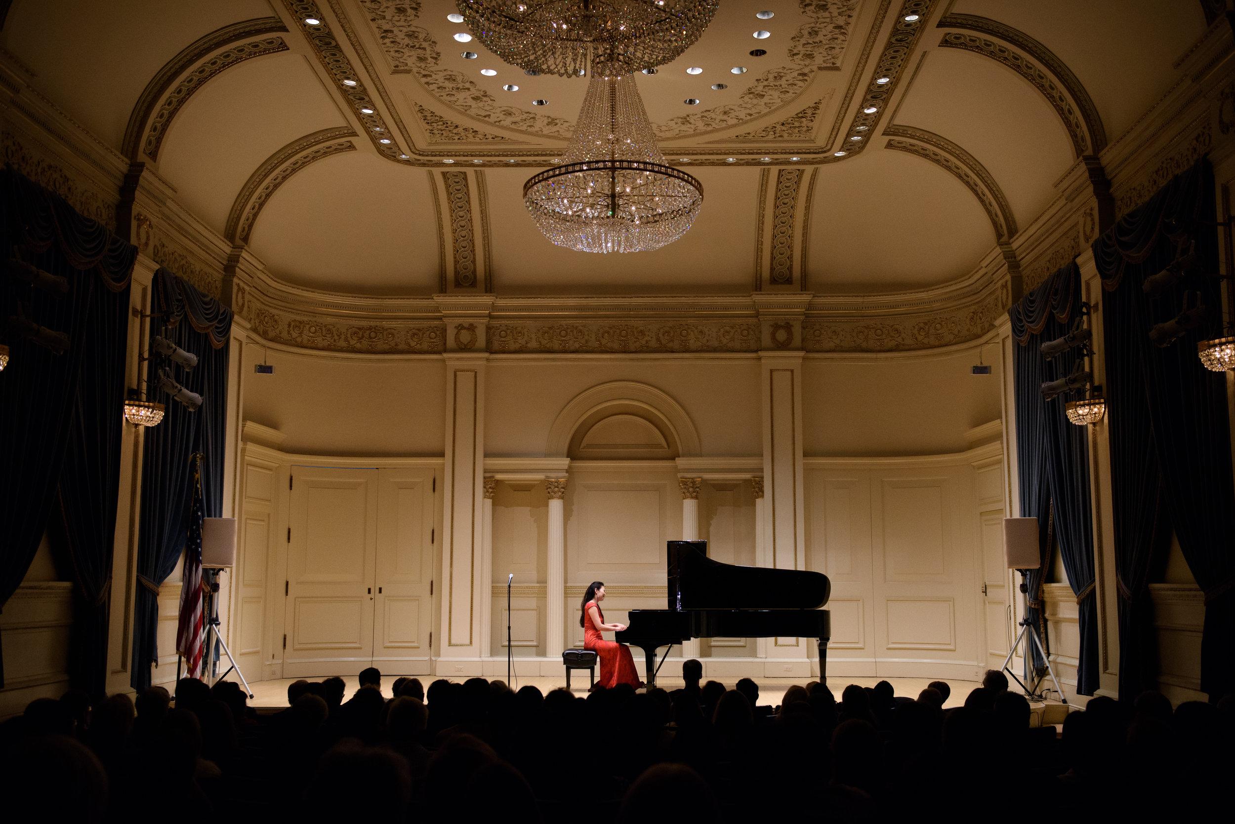 Carnegie Hall, NYC 2017
