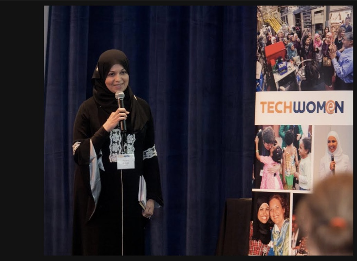 Hanan Khader, a 2013 TechWomen participant, launched HelloWorldKids in 2014 to teach kids as young as eight how to code.