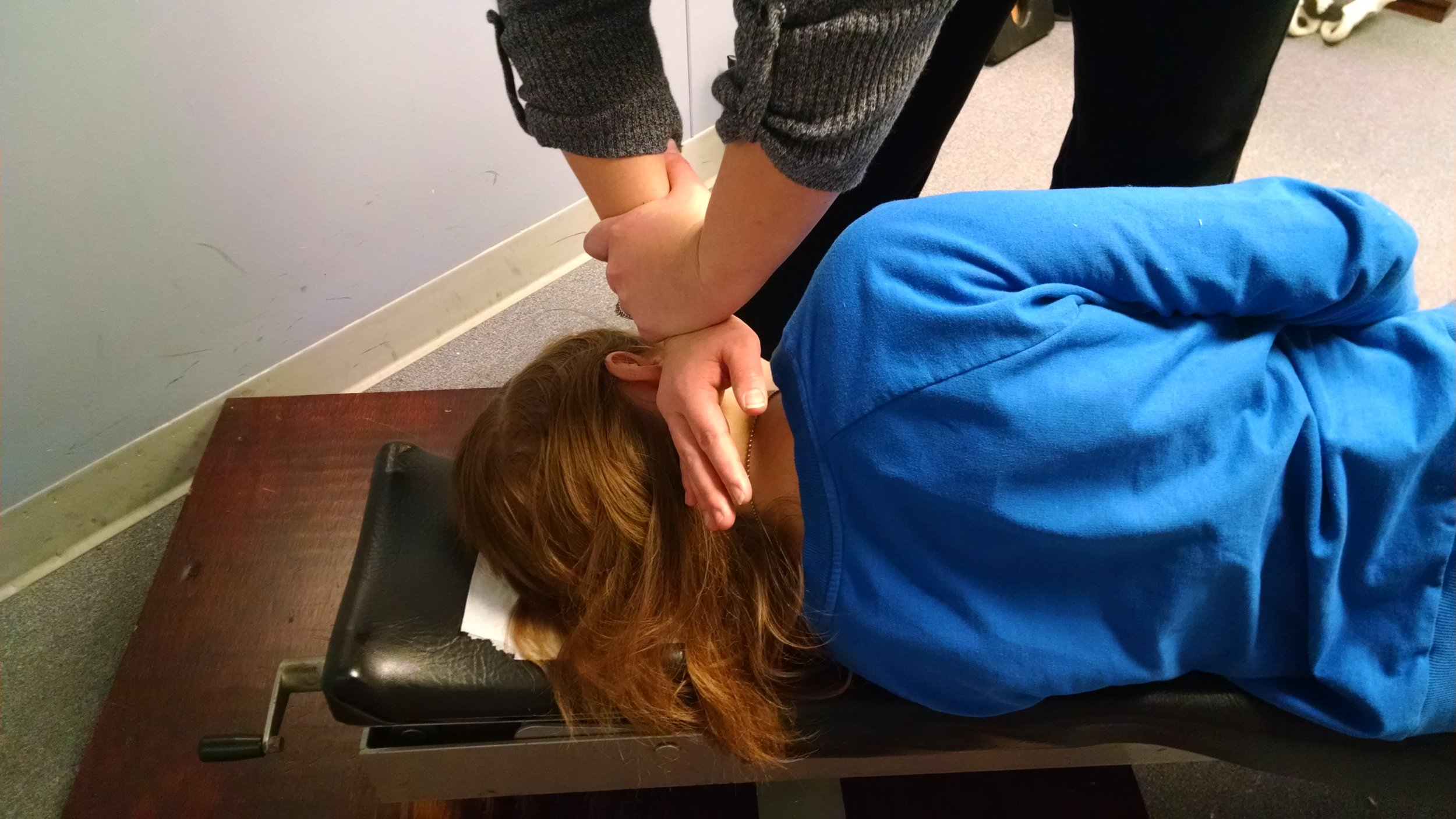 Upper cervical spinal adjustment - Straight Spine Chiropractic, Courtenay and Campbell River