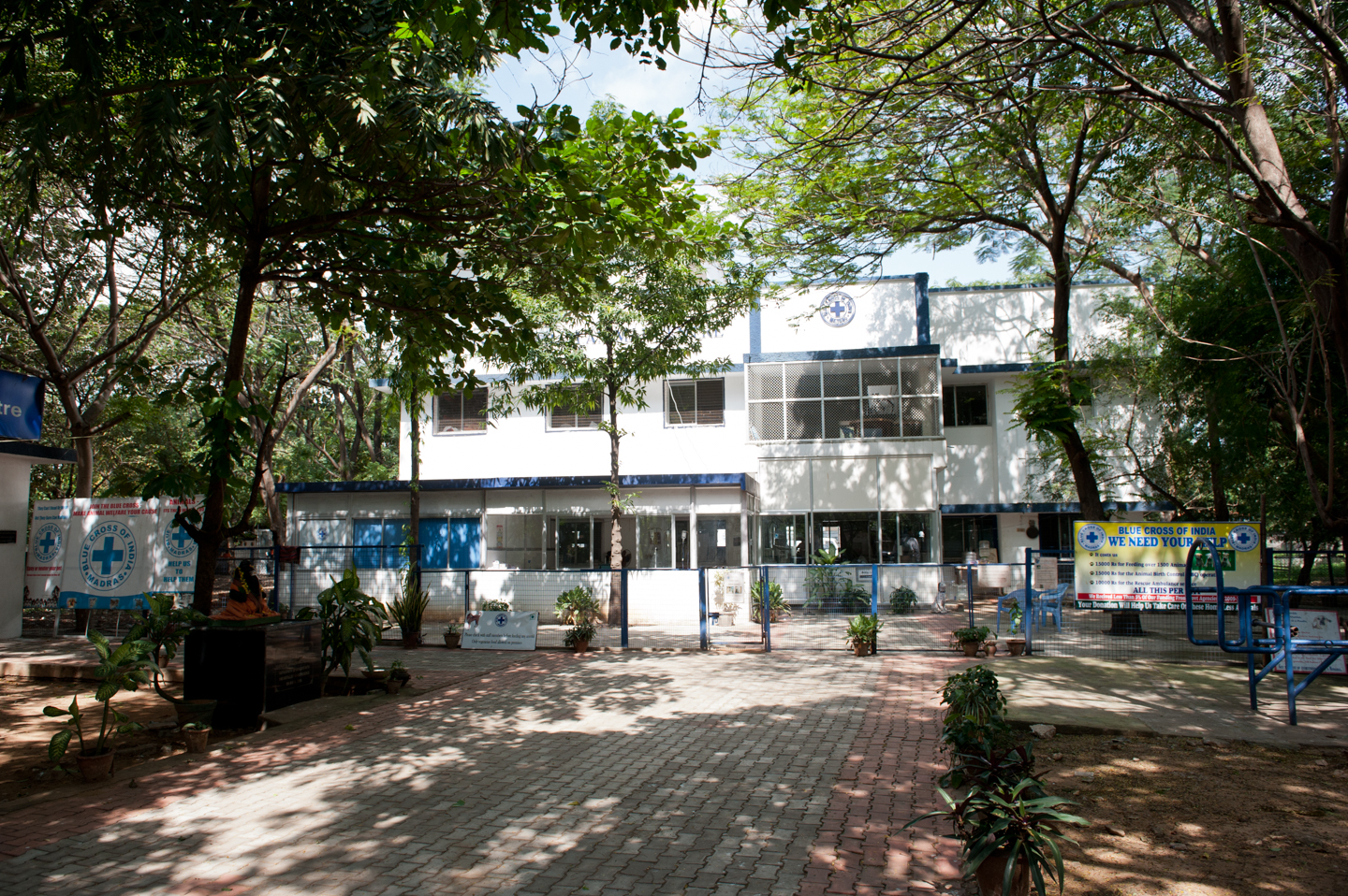 Blue Cross of India's main building