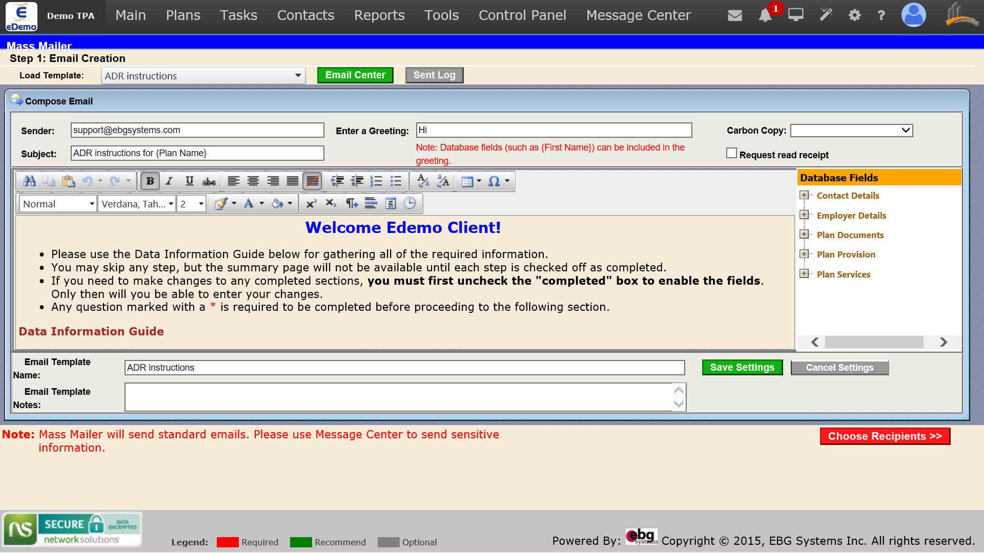 screenshot of Mass Mailer Composition.jpg