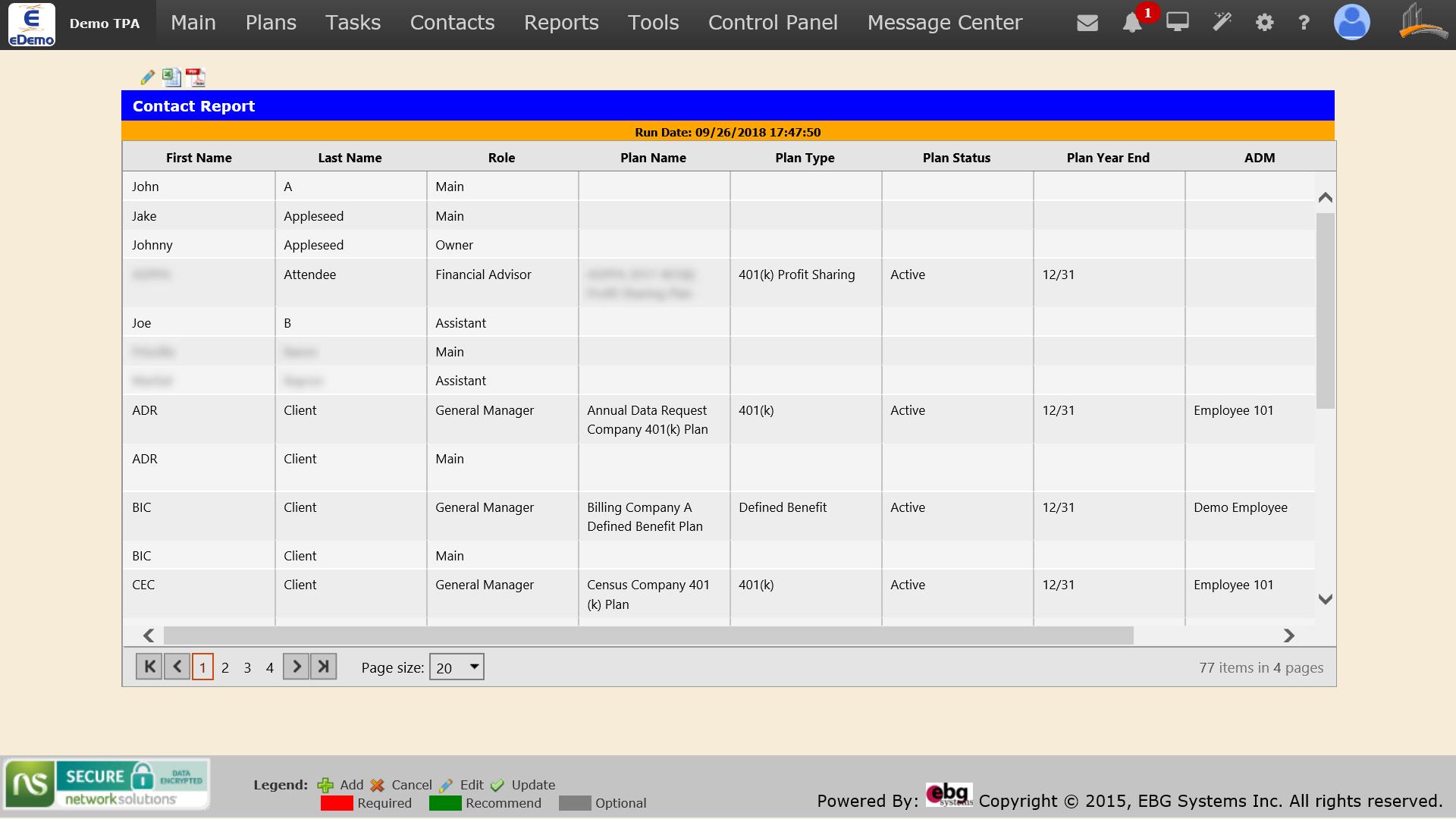 screenshot of Contact Report.jpg