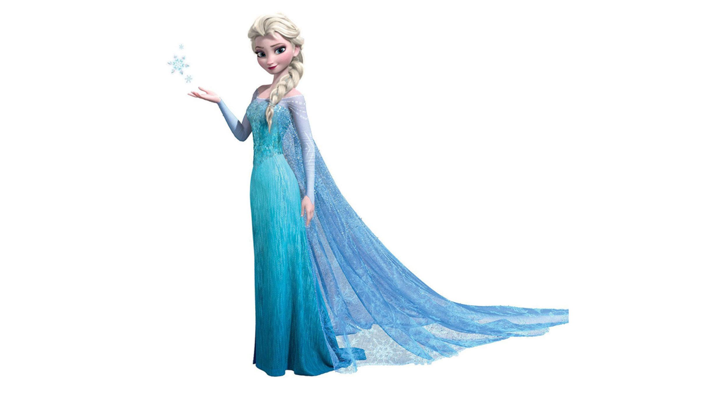 Elsa from Frozen.