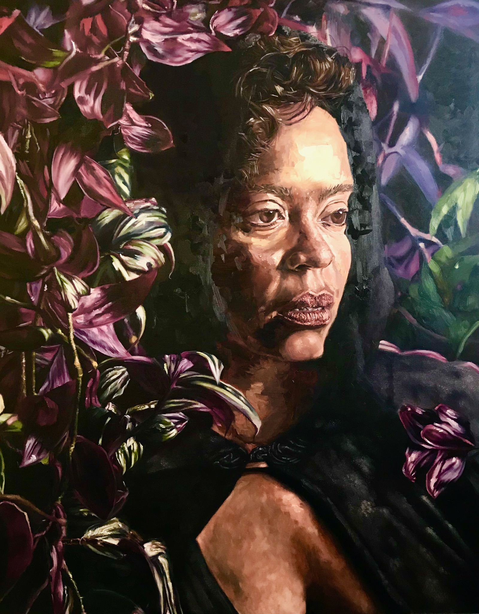 MAÑANA, oil on canvas, 48 x 60 inches, 2018