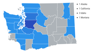 MS Care program's flexible treatment model allowed for participation from MS patients across Washington state and four other western states.