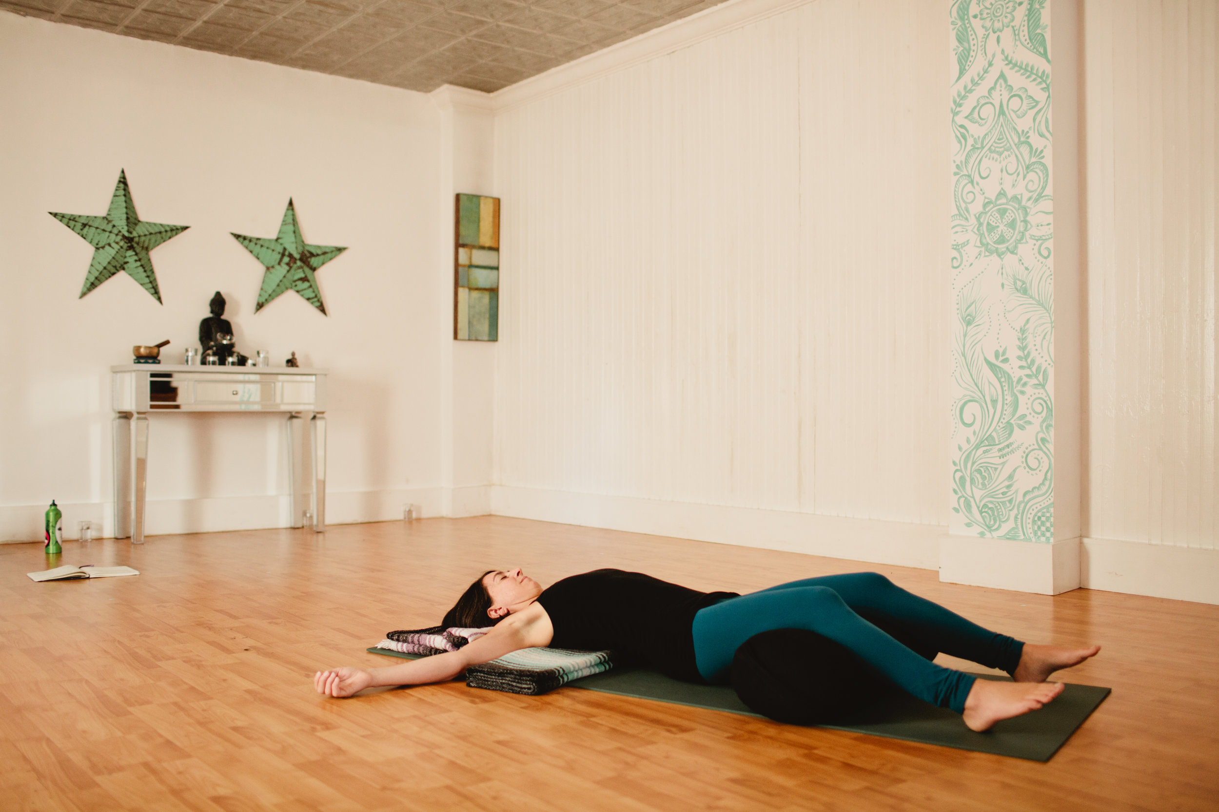 The Heart of the Matter: Supported Back Bends to Inspire + Uplift - March 31, 2018