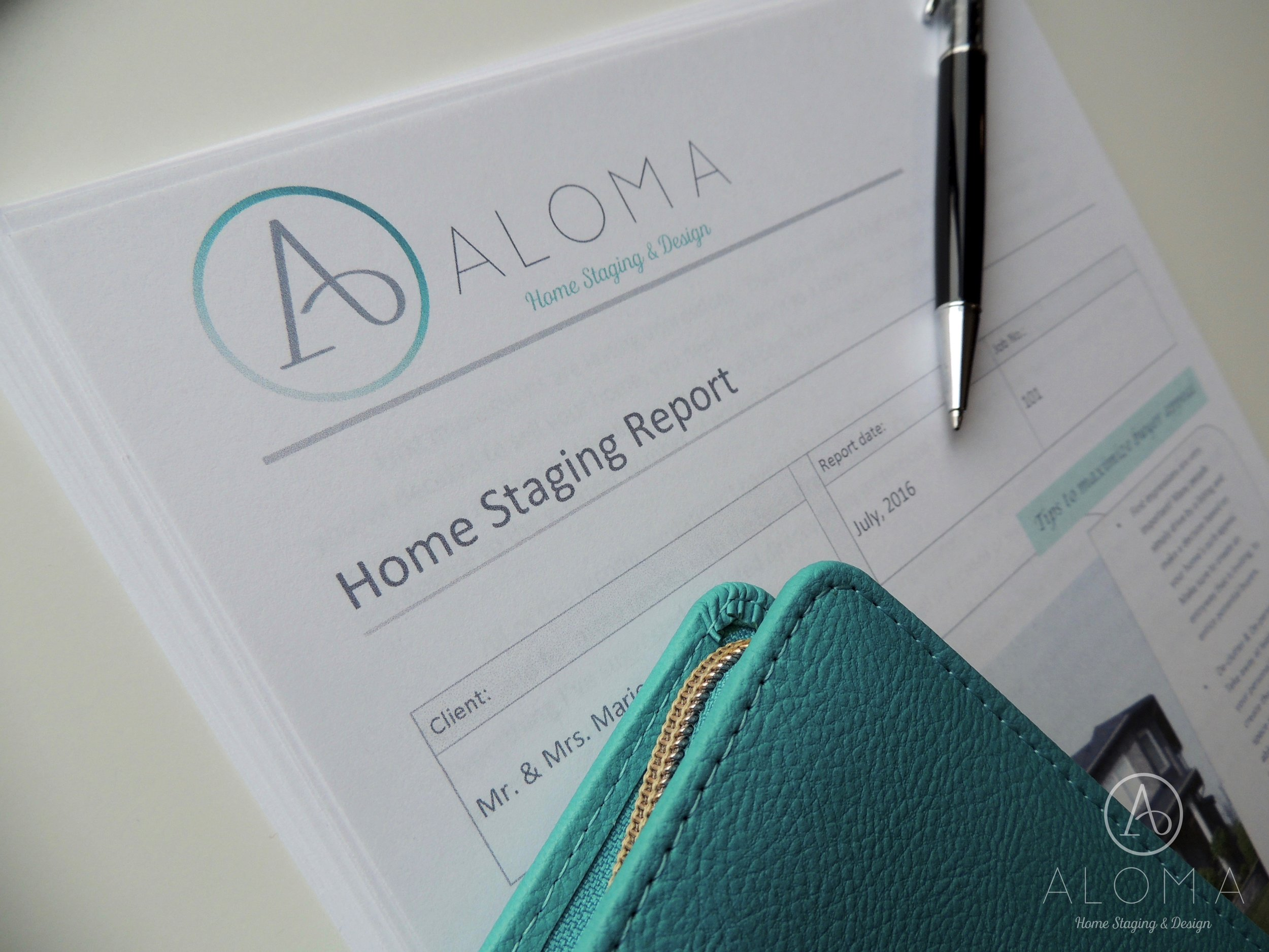 Home Staging Report by Aloma Home Staging & Design