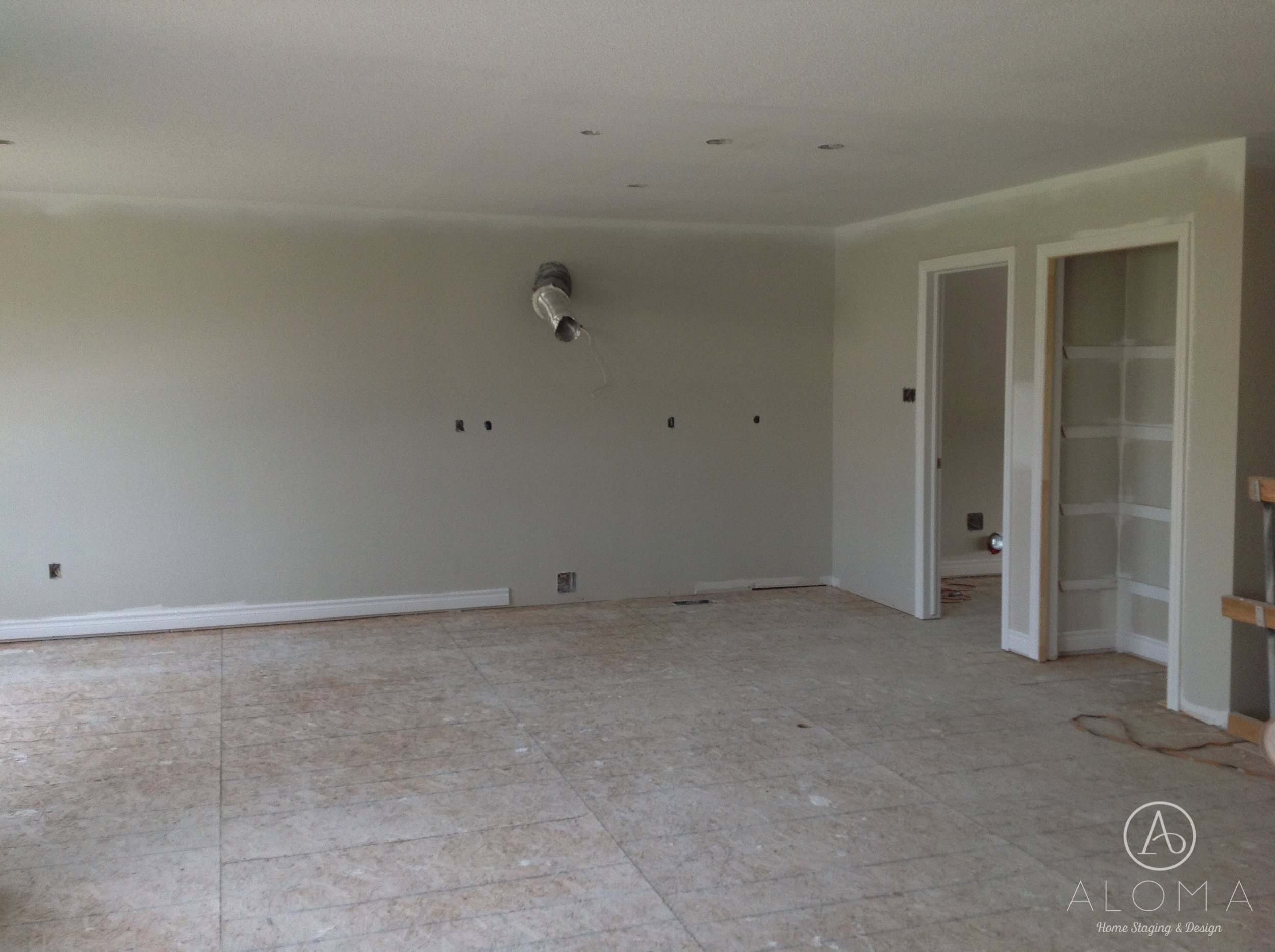 Before-Bellview house-ALOMA Home Staging & Design