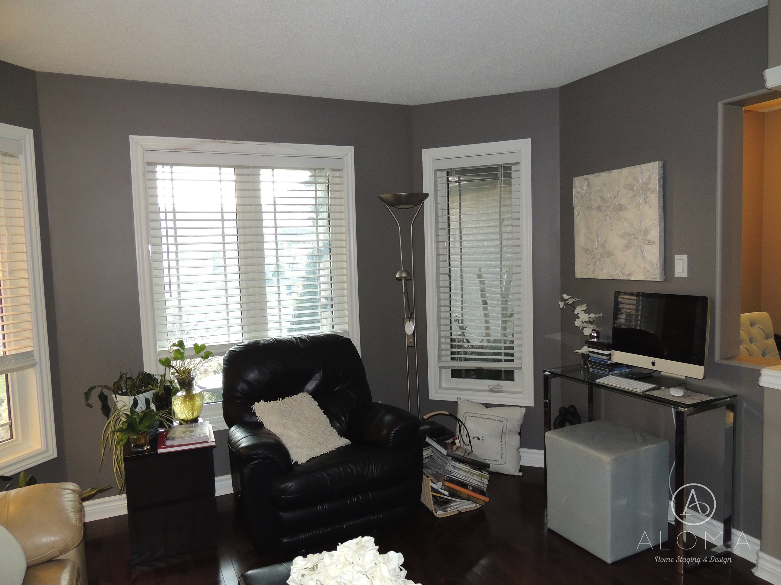 Before-Office-ALOMA Home Staging & Design