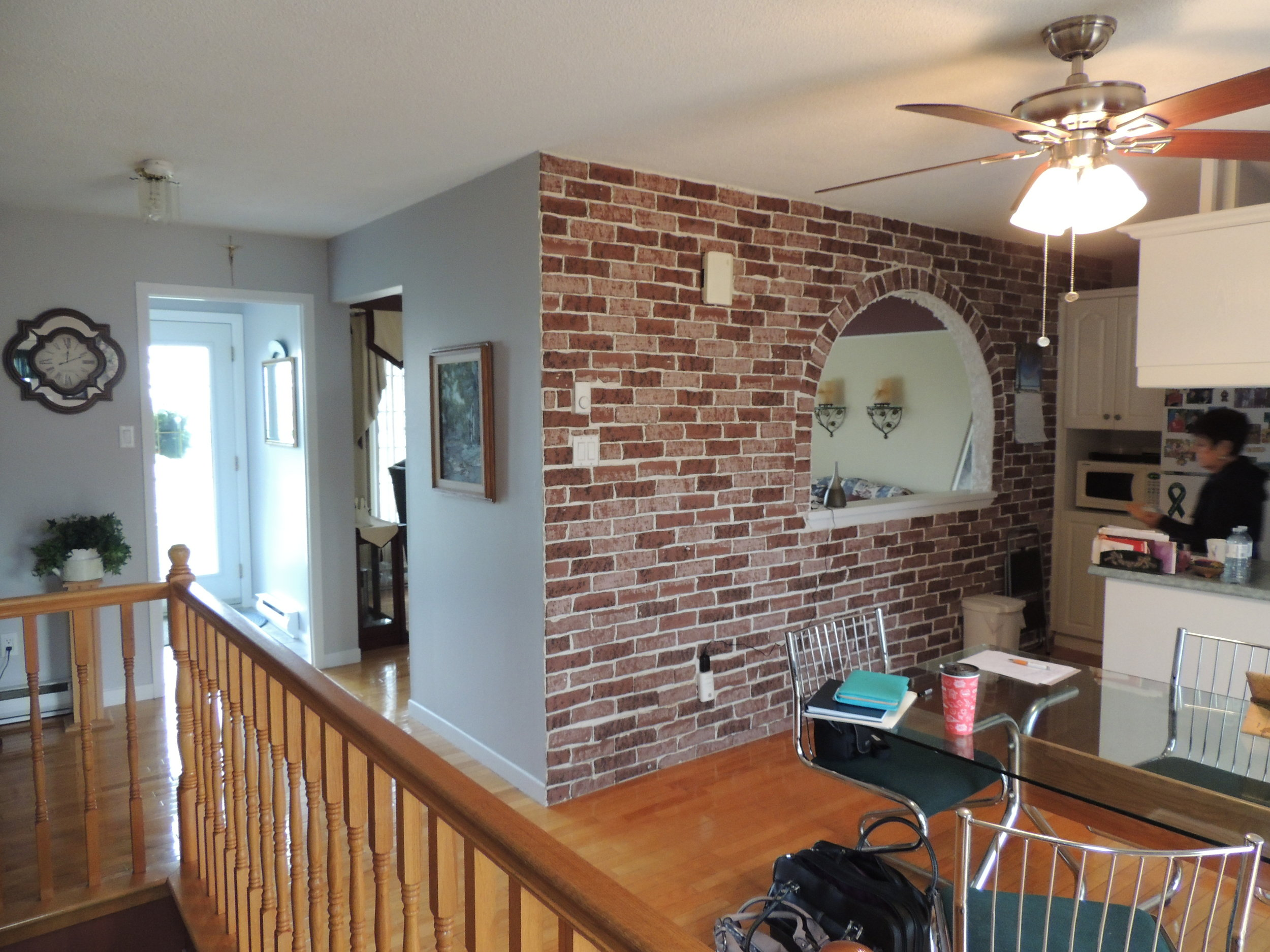 Before- Eating Area- ALOMA Home Staging & Design