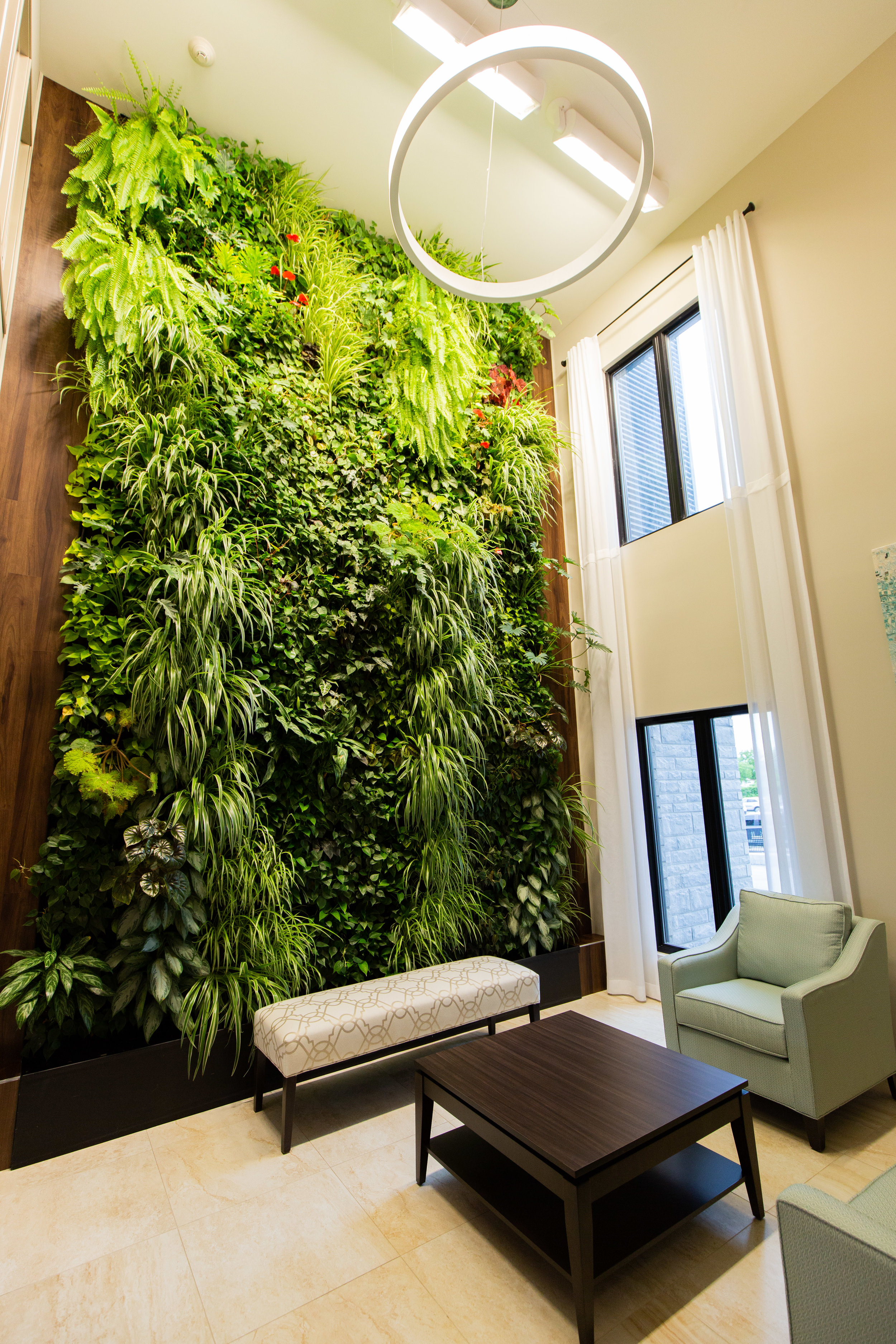 2 Storey Live Plant Wall- ALOMA