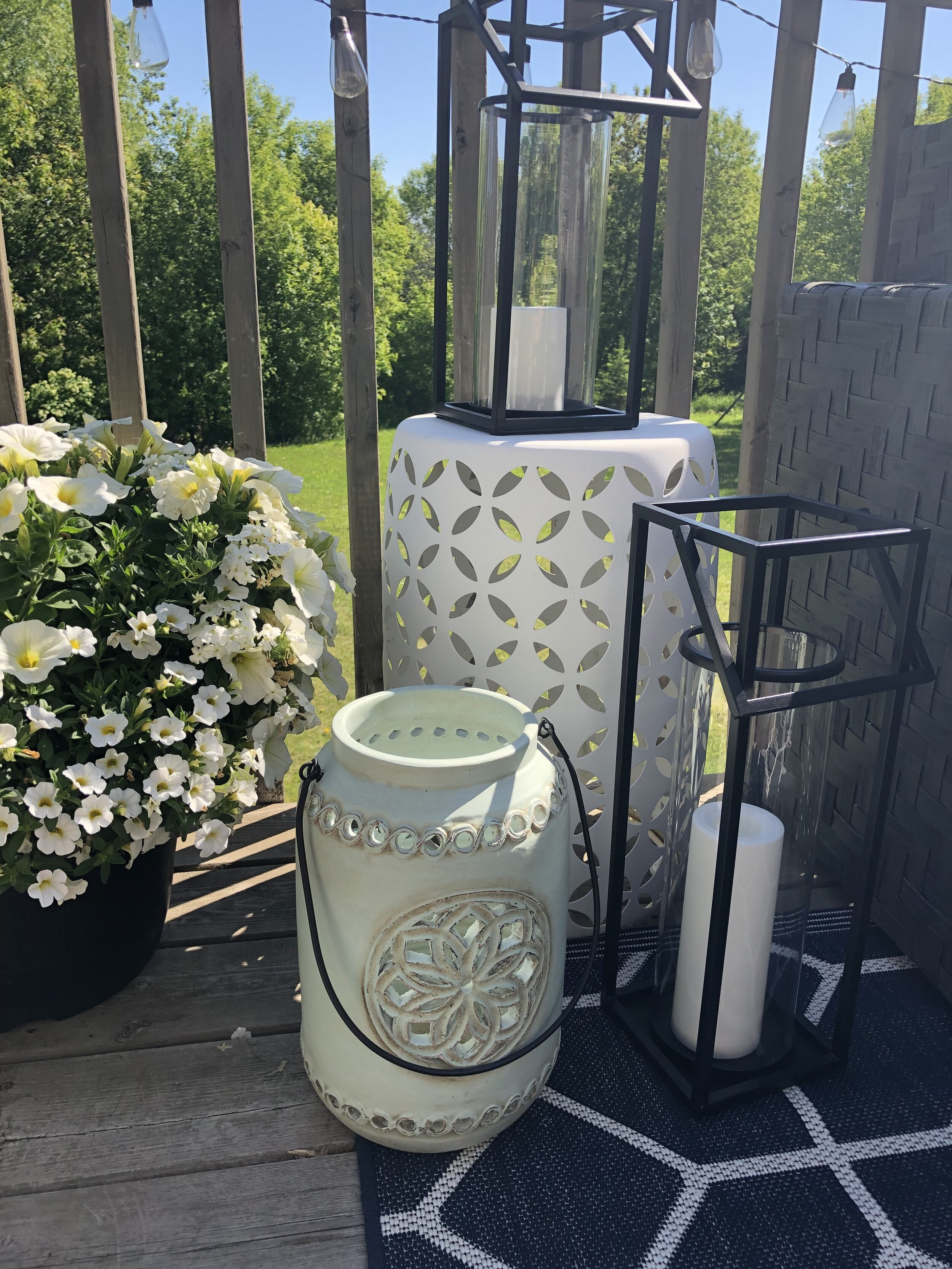 Outdoor Deck Redesign- ALOMA Home Staging & Design