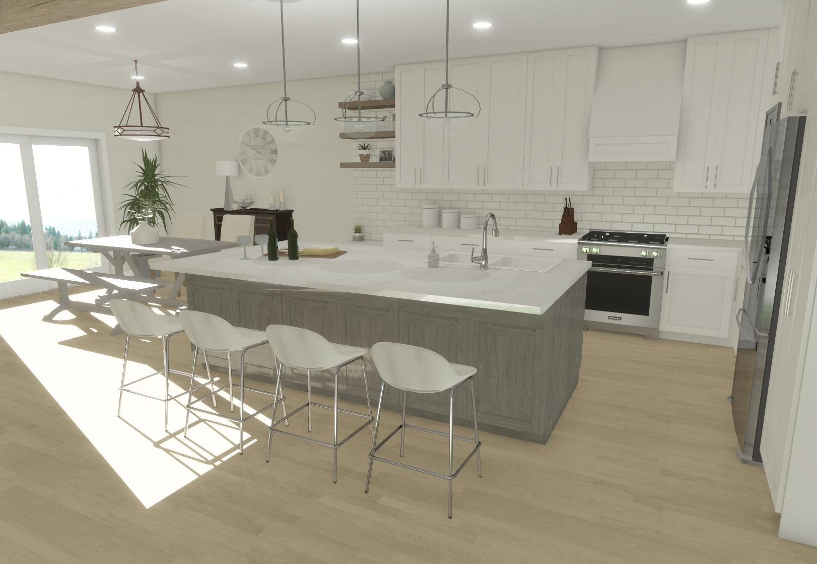 Frontenac Kitchen By ALOMA Home Staging & Design