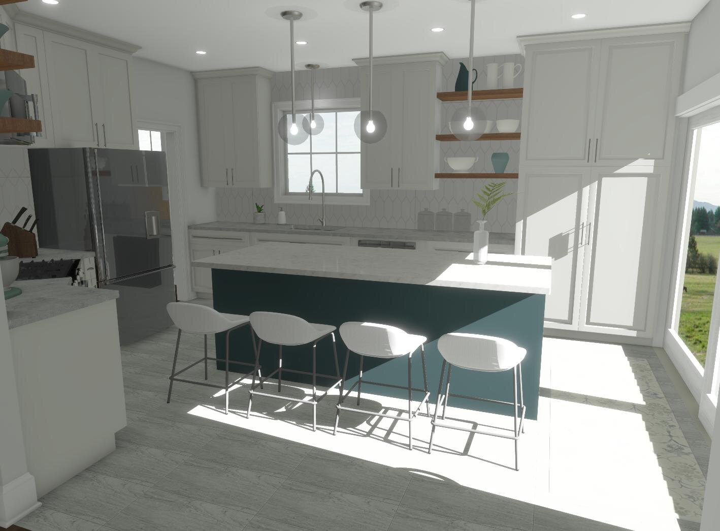 Rembrant Kitchen By ALOMA Home Staging & Design