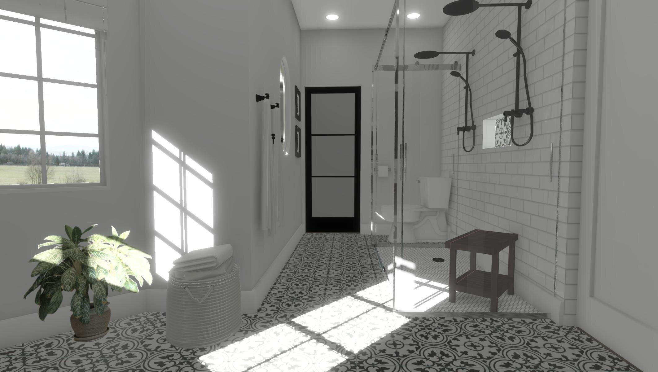 Golf Club Bathroom By ALOMA Home Staging & Design