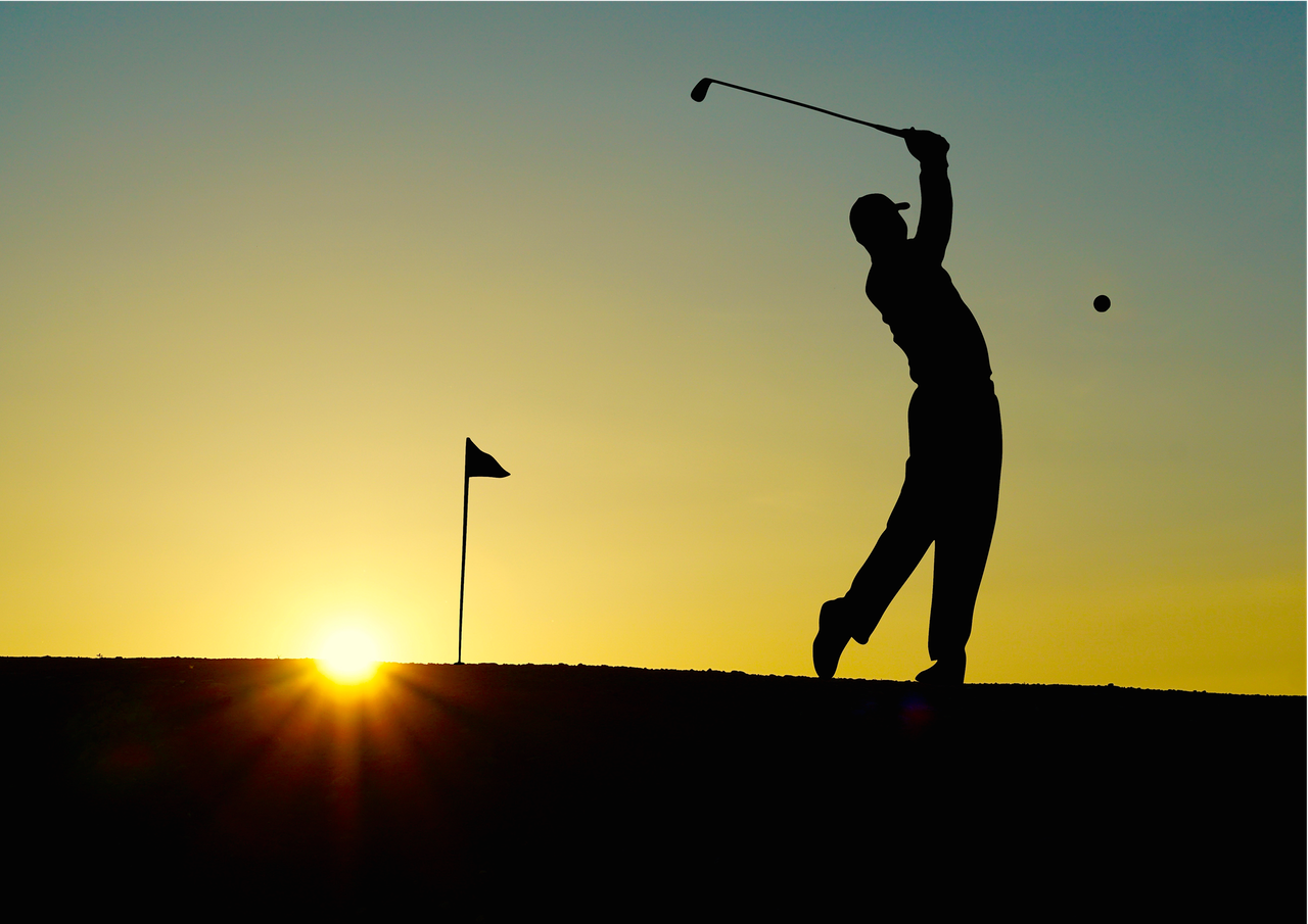 mindfulness on the golf course