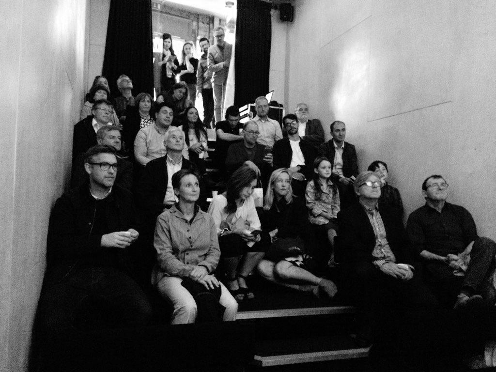 Notations   book launch, Irish Architecture Foundation, July 2016. photograph courtesy Nathalie Weadick