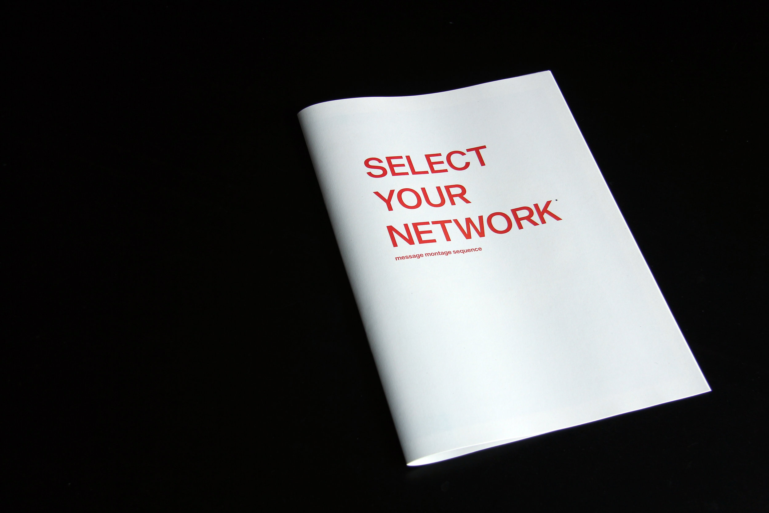 Peter Maybury: SELECT YOUR NETWORK
