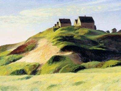 Edward Hopper's  Corn Hill