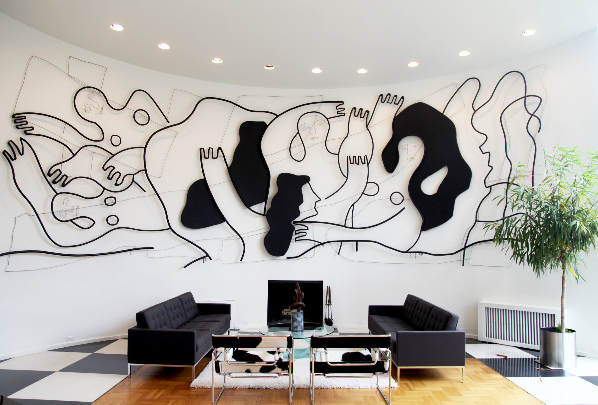 brandon d'leo installation new york city