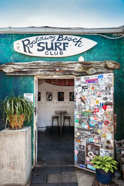 brandon d'leo artist rockaway beach surf club new york