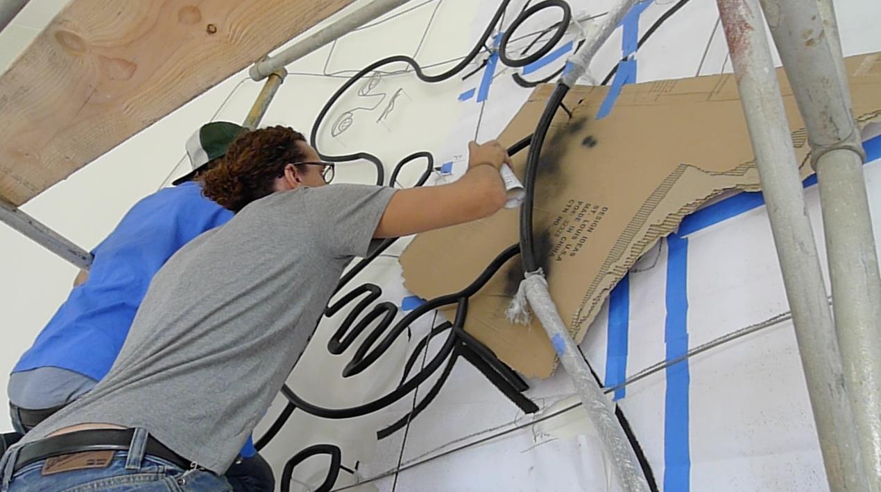 brandon d'leo installation new york city artist