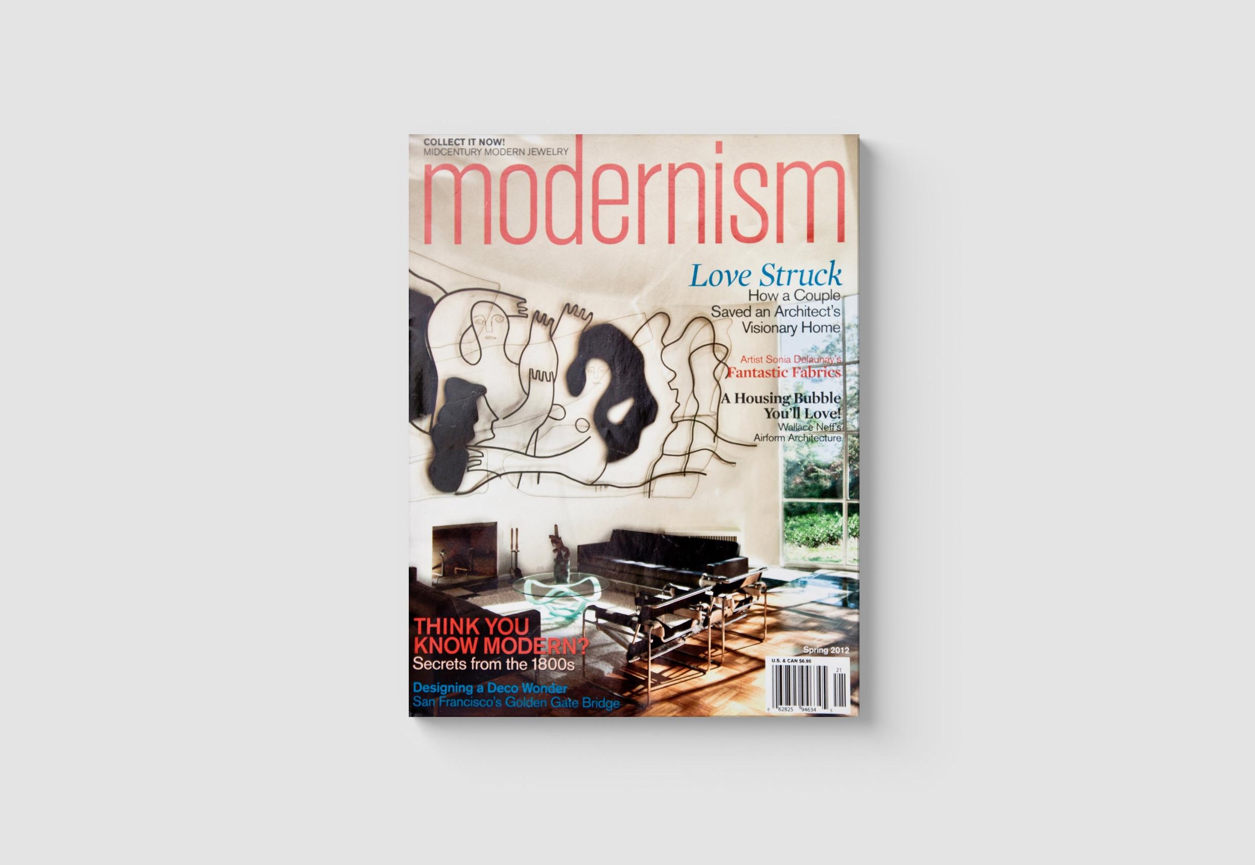 MODERNISM MAGAZINE | 2012